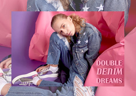 Double Denim Dreams
